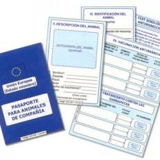 Pasaporte Europeo para animales de compañia